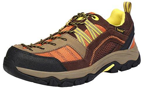 Hiwalk Women's Breathable Outdoor Leather Walking Trekking Hiking Shoe