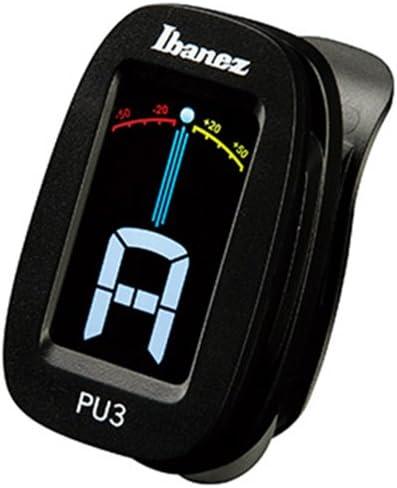 Ibanez PU3-BK - Afinador automático, color negro