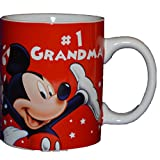 Authentic Disney Mickey Mouse & Friends #1 Grandma 11oz Coffee Mug Cup White by Disney