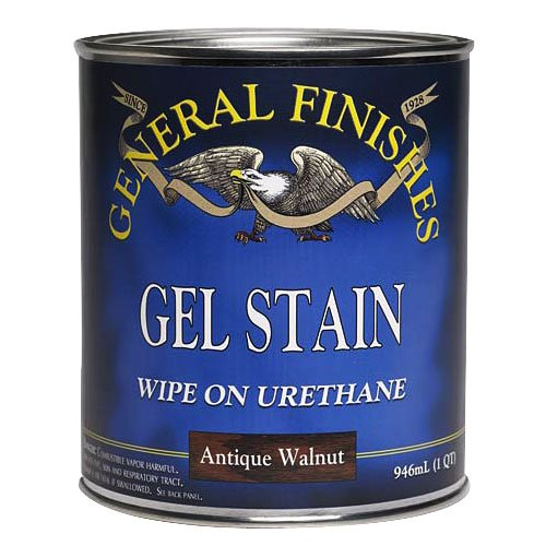American Oak Gel Stain, 1/2 Pint - Oak Finish Gel