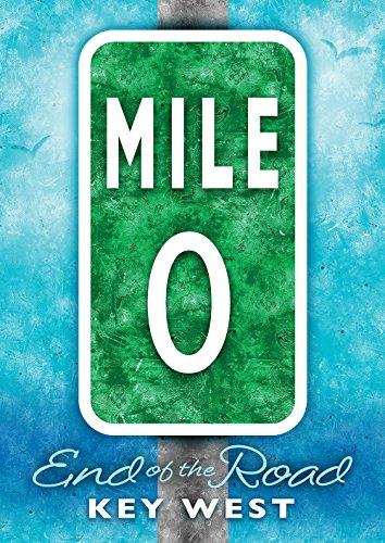 Toland Home Garden Mile Marker Zero 28 x 40 Inch Decorative Regional Key West Florida Road Sign House Flag (Florida Mile Keys Marker)