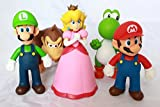 Super Mario Bros Brothers Action Figures Collection 5 pcs Set