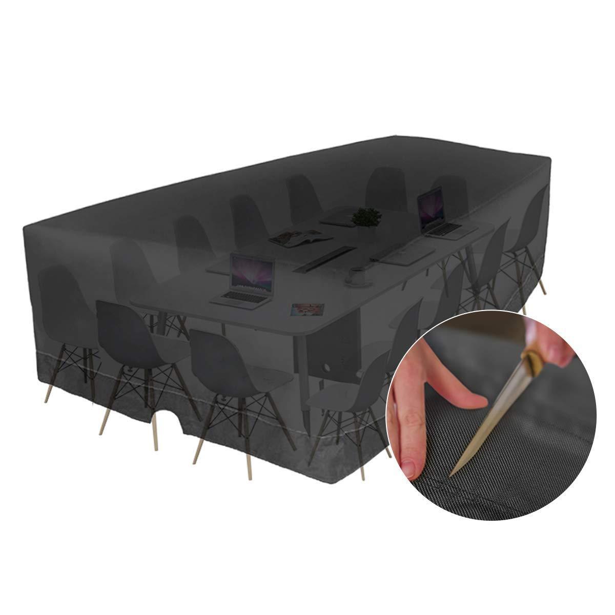 Size : L*W*H:60x60x60cm Tavolo e copridivano Portico Salotto sede della Sedia E.Enjoy Copertura Mobili Giardino Impermeabile Copertura partizione Esterna Grande capacit/à