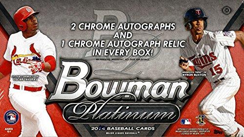 2014 bowman platinum baseball box - 3