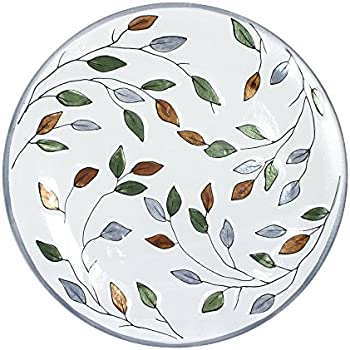 Pfaltzgraff Everyday Rustic Leaves Round Glass Platter 14-3/4-Inch  sc 1 st  Amazon.com & Amazon.com | Pfaltzgraff Everyday Rustic Leaves Round Glass Platter ...