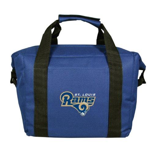(NFL St. Louis Rams Soft Sided 12-Pack Cooler Bag)