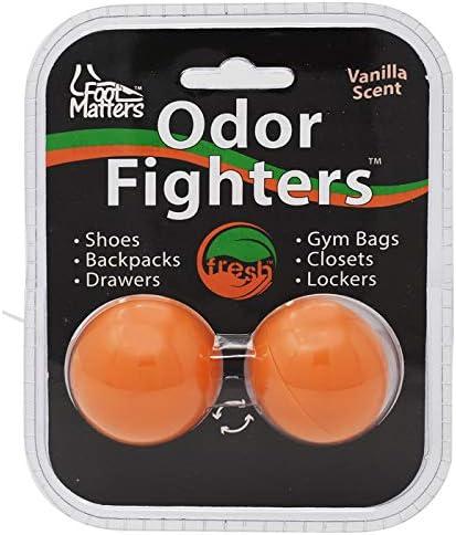 footmatters Geruch Fighters Schuh Parfum Kugeln (2 Bälle)