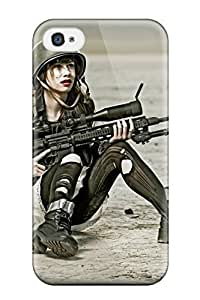 Iphone Case - Tpu Case Protective For Iphone 6 4.7- Women Sniper Rifle Militarys
