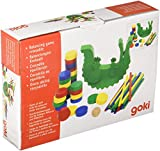 Goki Balancing & Stacking Game Crocodile Baby Toy