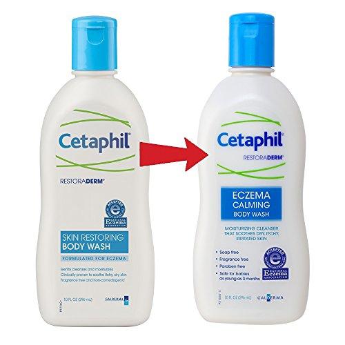 Cetaphil Restoraderm Eczema Calming Body Wash 10 Ounce