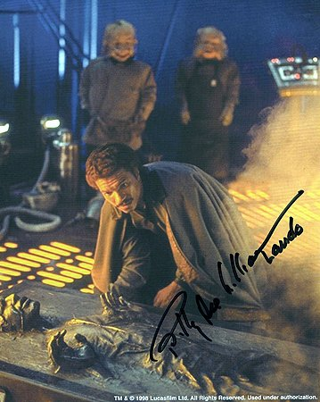 BILLY DEE WILLIAMS (Empire Strikes Back) 8x10 Celebrity Photo Signed In-Person