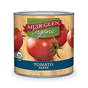 Muir Glen Organic Tomato Paste, 6-Ounce Cans (Pack of 24)