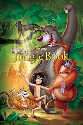 Poster USA - Disney Classics The Jungle Book Poster GLOSSY F