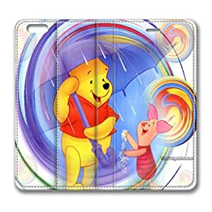 iPhone 6 Plus Case,Cute Cartoon Winnie The Pooh Leather Case Design for Apple iPhone 6 Plus 5.5 inch by iCustomonline