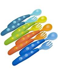 美亚:凑单新低价,Gerber 嘉宝 儿童餐具叉勺套装(4组*2)