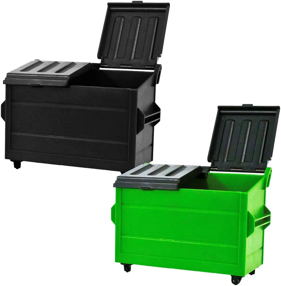TWTOYS TW2027 1//12 Scene Props Street Dumpster Trash Can Figure Accessories