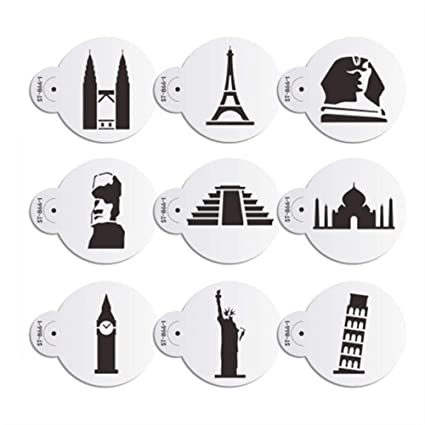 AK Art utensili da cucina 9 pz/set Eiffel Tower Cookie stencil per ...