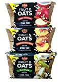 Apple Cinnamon, Peach Cinnamon Spice, Pear Maple - Del Monte Fruit & Oats - Variety Pack - Bundle of 3