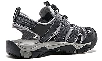 Atika At-w107-kgy_women 8 B(f) Women's Sports Sandals Trail Outdoor Water Shoes 3layer Toecap W107 2