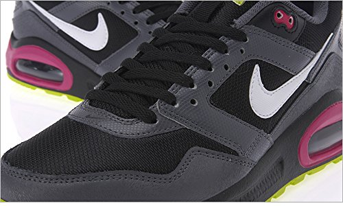 Nike - Zapatillas para niño, black - grey - pink, 35 1/2