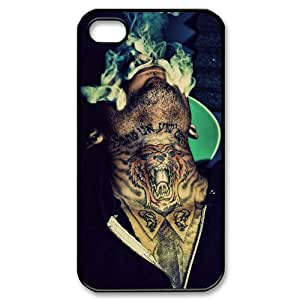 YUAHS(TM) Custom Case for Iphone 4,4S with Kid Ink YAS048389