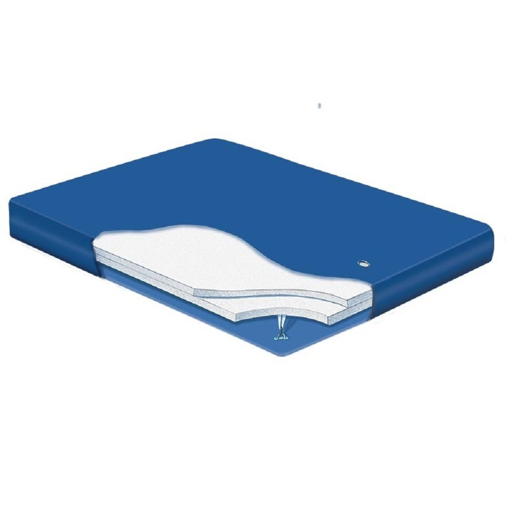 Boyd's 6'' MID FILL 80% WAVELESS SOFTSIDE WATERBED REPLACEMENT BLADDER (Queen 60x80 Venus 2)
