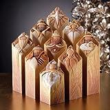 Christmas Decoration - Pillars of Heaven - 9 Piece Interlocking Nativity Story