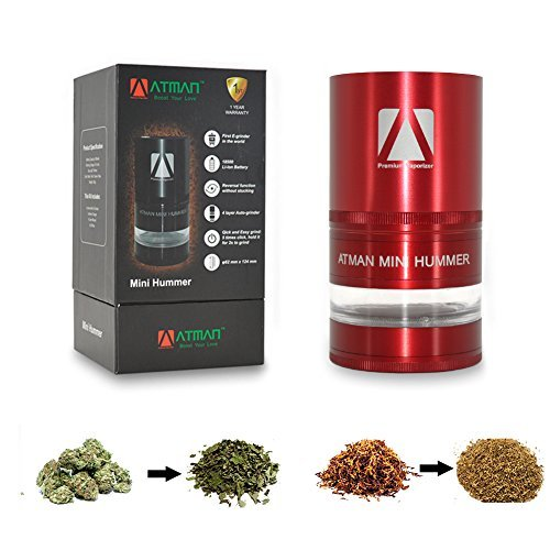 Grinder, ATMAN Portable Mini Hummer Electric Mill