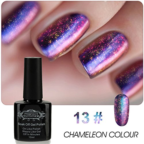 Perfect Summer Chameleon Colour Gel Nail Polish Soak Off UV