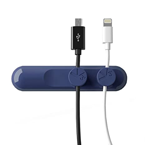 Kasstino Magnetic USB Cable Clip Escritorio organizado Organizador ...
