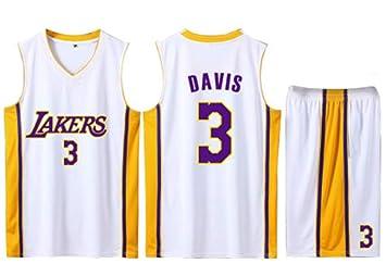 FDRYA Conjunto De Camisetas De Baloncesto para Hombre Lakers 3 ...