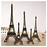 #10: Kalevel 15cm 6inches France Paris Eiffel Tower Statue Decor Effiel Tower Decorations Metal Eiffel Tower Statue Birthday Party Supplies Home Decor Living Room Decor Art Statue