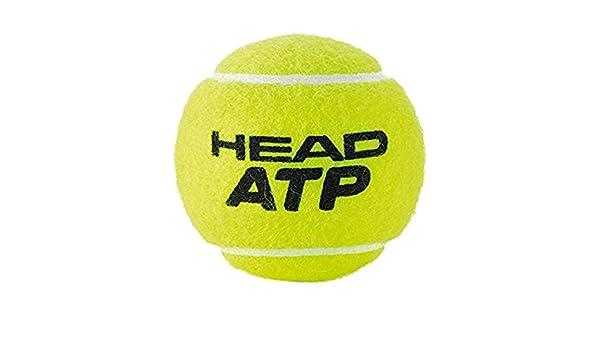 Head Atp 3B - Lote de pelotas, color amarillo, 6 DZ: Amazon.es: Deportes y aire libre