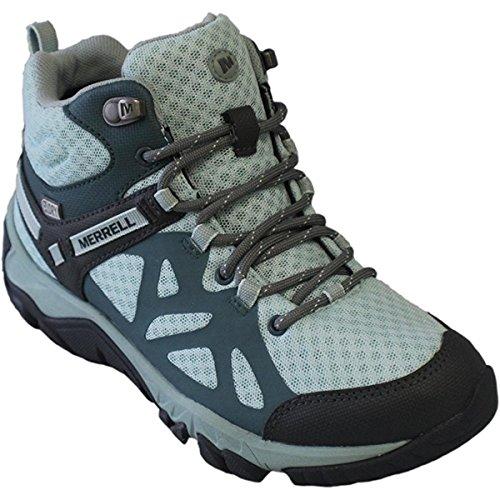 Merrell Edge Womens - Merrell Outright Edge Mid Women's Sedona/Glacier Waterproof Hiking Boot 5M