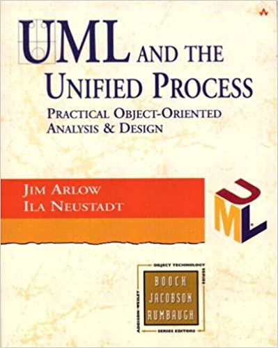 Book UML and the Unified Process: practical object-oriented analysis and design (Object Technology Series)