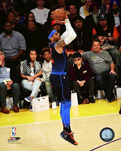 Carmelo Anthony Oklahoma City Thunder NBA 2017-18 Action Photo (Size: 11