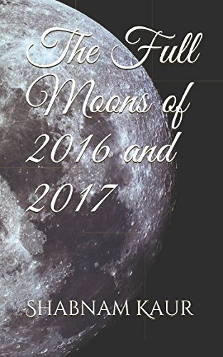 The Full Moons of 2016 and 2017