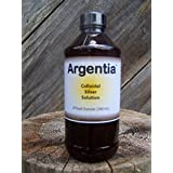 Argentia Colloidal Silver 50 ppm 8 oz liquid