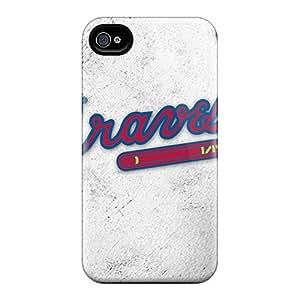 Iphone 6 KFe11606klNP Provide Private Custom Beautiful Atlanta Braves Image Protector Hard Phone Cases -MansourMurray