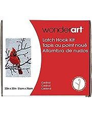 Wonderart Classics Cardinal Latch Hook Kit