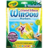 Crayola Marcador para Vidrio con Crystal Effect
