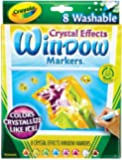 Crayola Window Markers with Crystal Effects