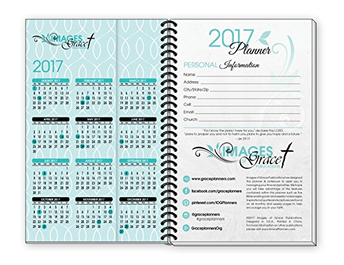 images of grace christian daily planners teal fish