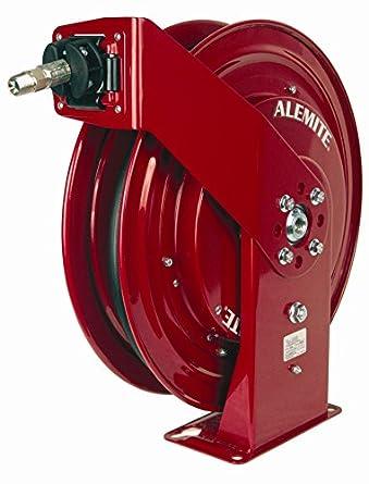 Alemite 8078-F 50u0027 Heavy Duty Hose Reel Air/Water  sc 1 st  Amazon.com & Alemite 8078-F 50u0027 Heavy Duty Hose Reel Air/Water: Amazon.com ...