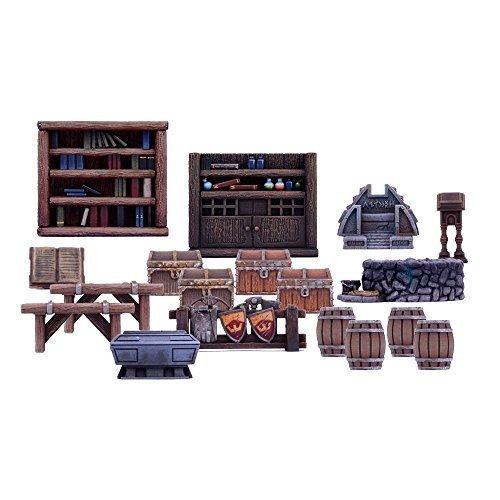 Miniature Furniture (Dungeon Saga: Furniture Pack)