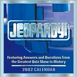 Jeopardy 2002 Calendar Amazoncouk 9780740715884 Books