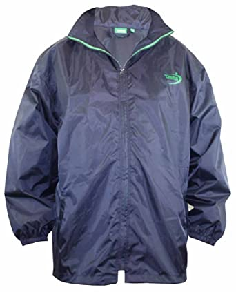 Big Mens D555 Zac Packaway Rain Jacket - Navy 3XL 4XL 5XL 6XL 7XL ...