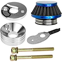 44mm Blue Air Filter Stack Choke Kit for 2 Stroke 23cc...