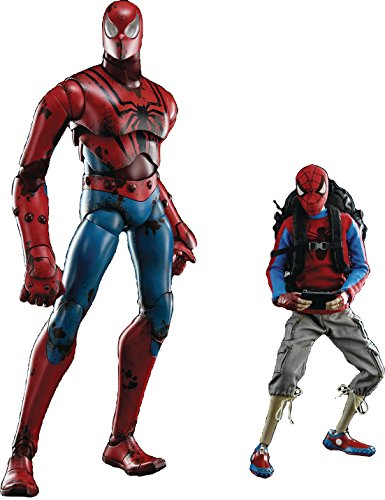 Three A Marvel X 3A Peter Parker & Spider-Man 1:6 Scale Acti