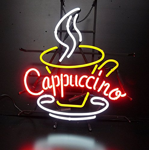 Cappuccino Led Sign (Cappuccino Coffee Neon Sign 24
